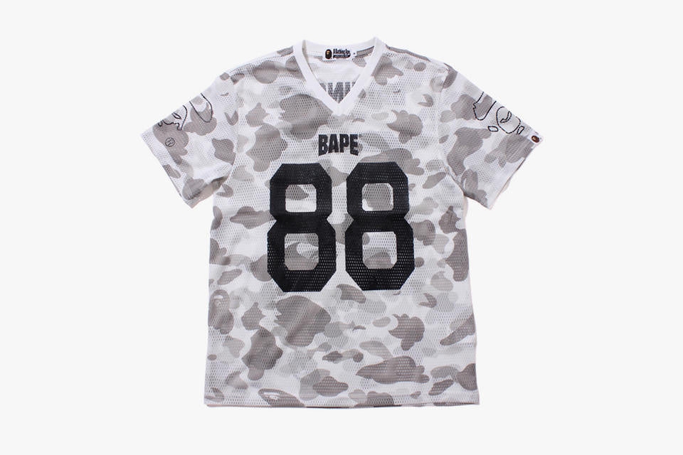*new* Bape Camo Football Jersey XL DS