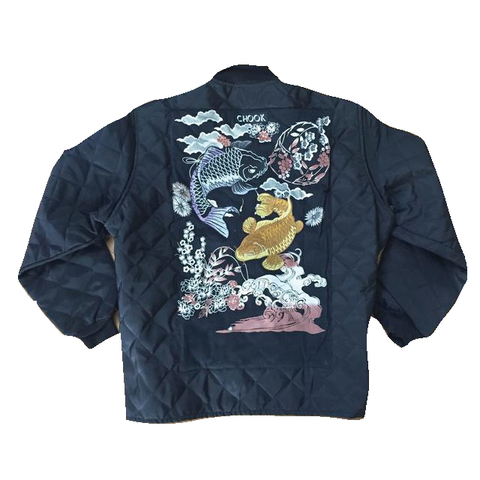 *new* SHCCK Embroidered Koi Freezer Jacket