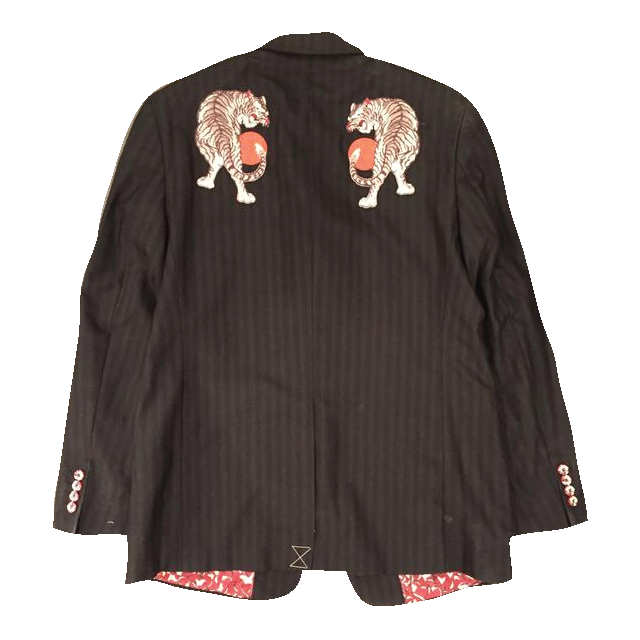 "*new* SHCCK ""Piety"" Embroidered Sport Jacket"