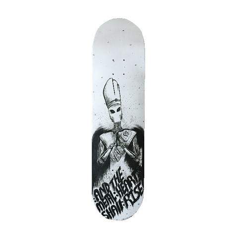 "*new* ""POPE BOT"" Skate Deck"