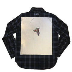 "*new* SHCCK ""reflect"" Flannel"