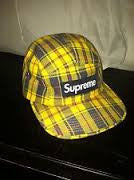 Supreme Plaid Yellow Camp - DS