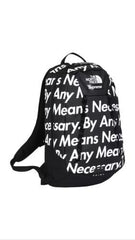 "Supreme / TNF ""by any means necessary"" Backpack - DS"