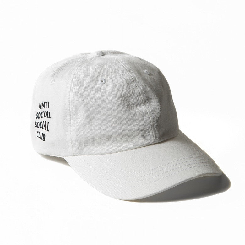 Anti Social Social Club Weird Cap - White DS