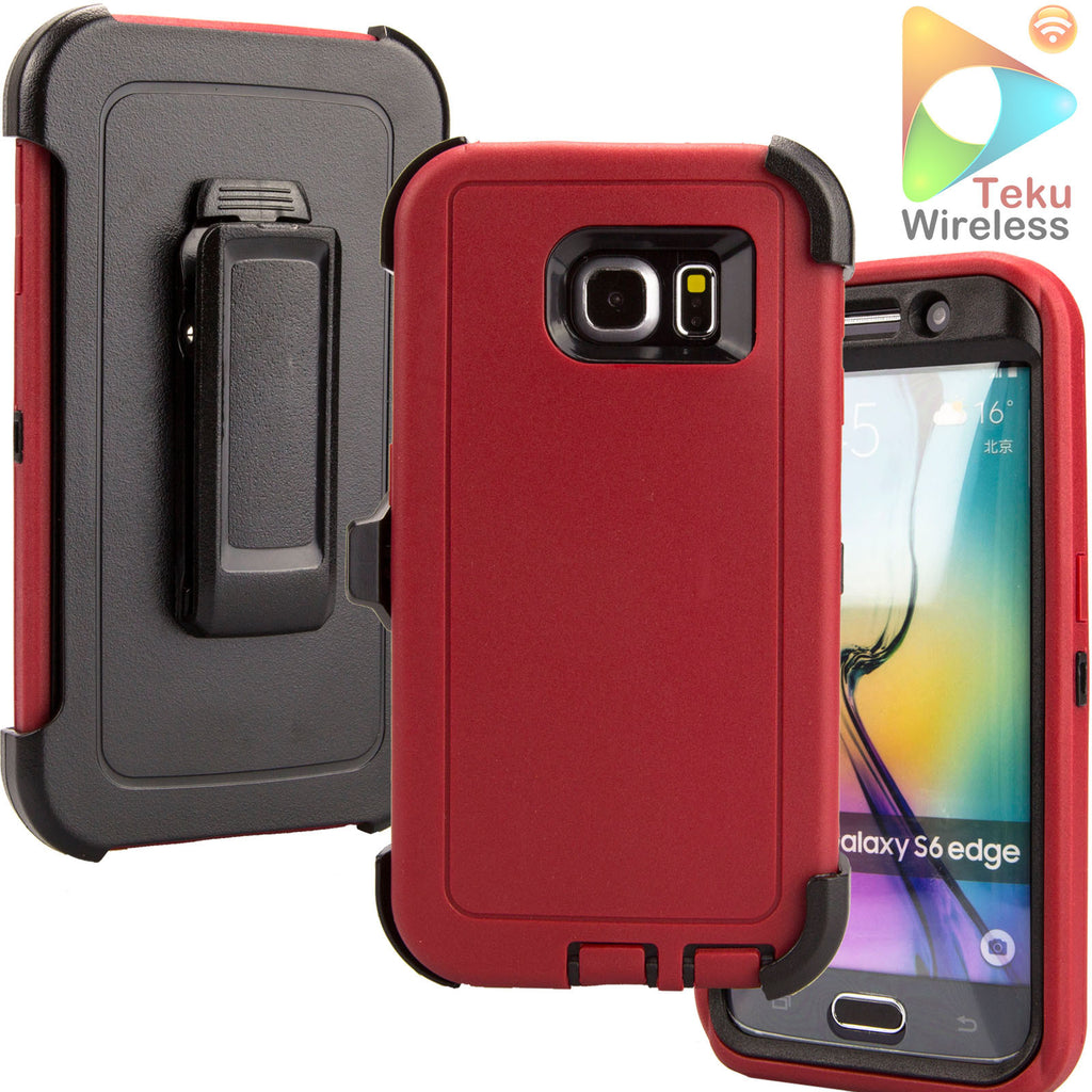 buy online d674f 74039 For Samsung Galaxy S6 Edge Case Belt Clip for Otterbox Defender