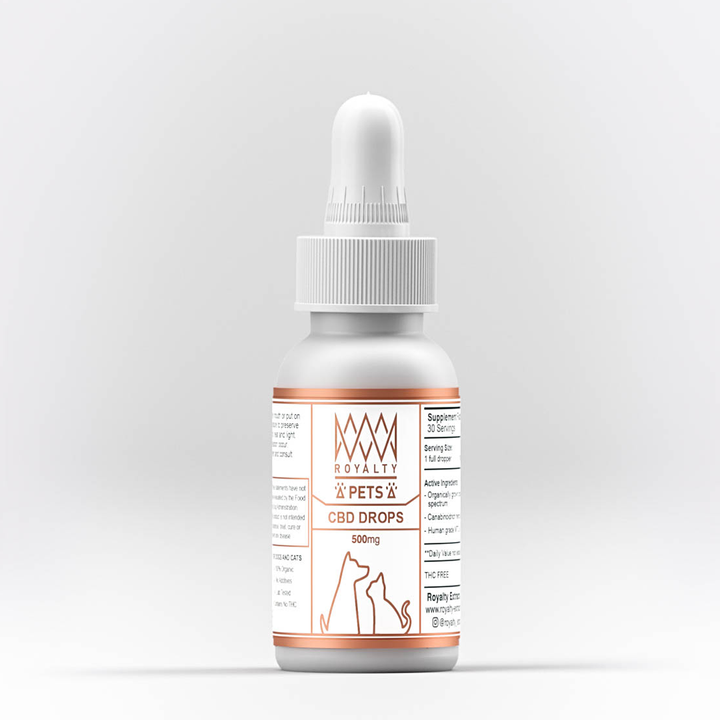 Royalty Extract: Pet CBD Drops