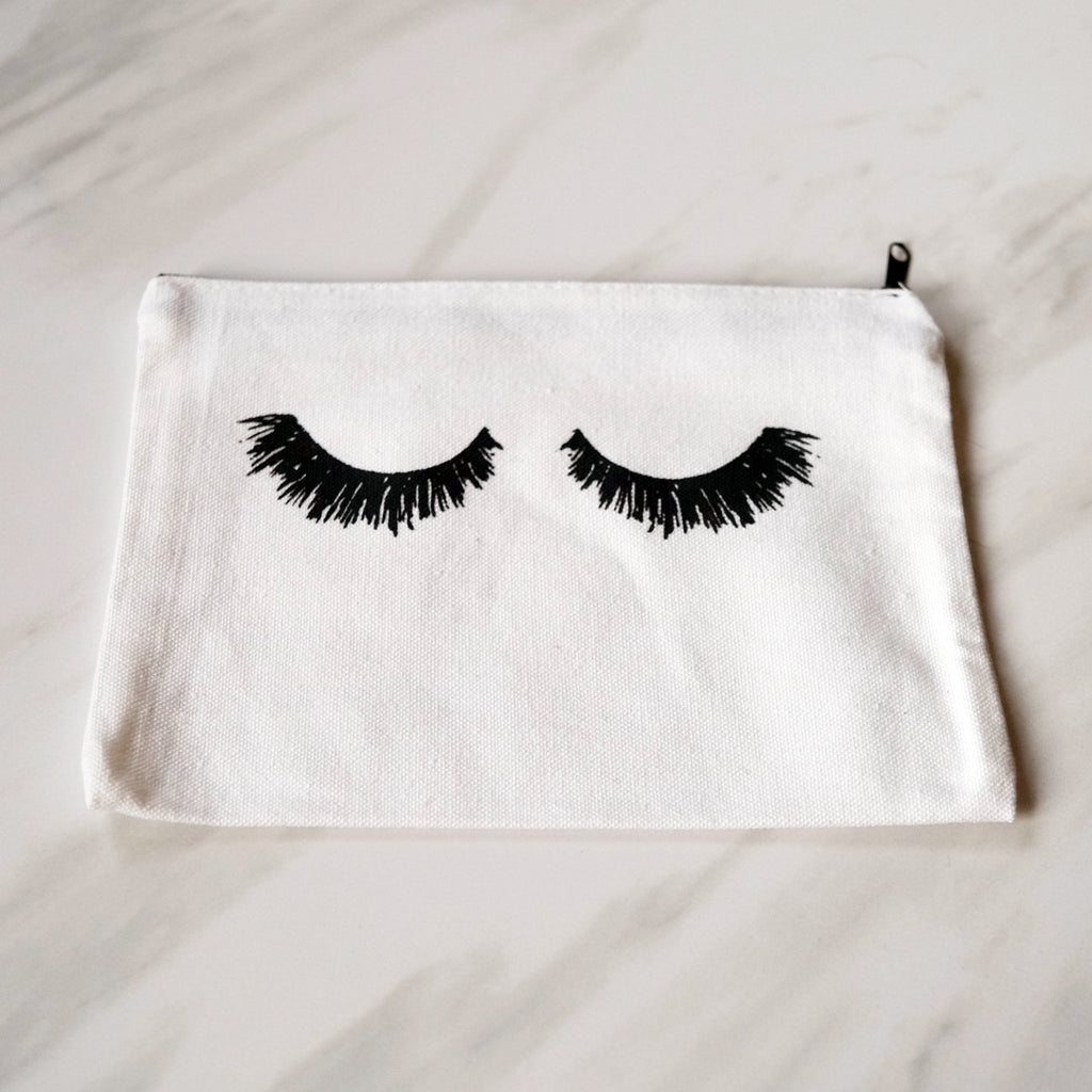 """I wish my eyelashes were this perfect"" Cosmetic Bag"