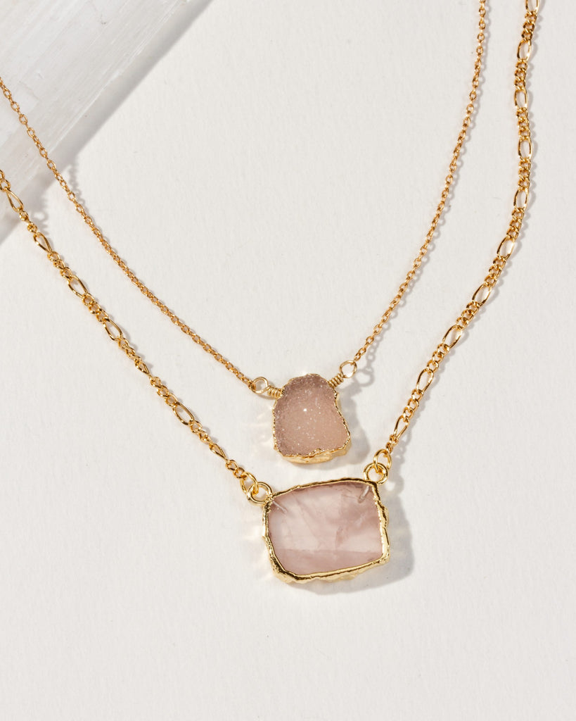 Made You Blush Layered Necklace