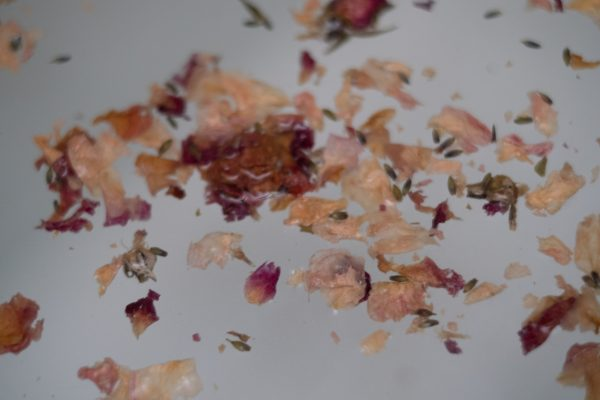Essential Oil Soaking Salts - Sage and Rose