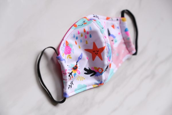 Face Masks - Kid's 7-12 years old or Women with Smaller or Narrow Faces - Adjustable 2.0 with Sliding Toggles Fit