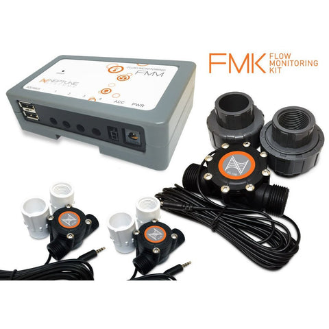 Neptune Flow Monitoring Kit (FMM,(2) FS50, (1) FS100)