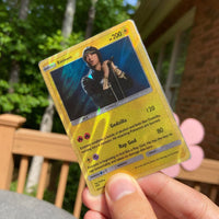 Eminem Pokémon Inspired Custom Holographic Cards