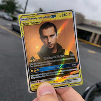 twenty one pilots Pokémon Inspired Custom Holographic Cards