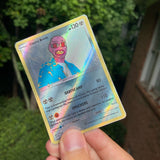 Tyler, the Creator Cherry Bomb Pokémon Inspired Custom Holographic Cards