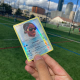 Lil Uzi Vert The Real Uzi Inspired Custom Holographic Cards
