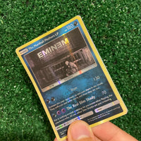 The Marshall Mathers LP Eminem Pokémon Inspired Custom Holographic Cards