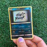 Daft Punk Human After All Inspired Custom Holographic Cards