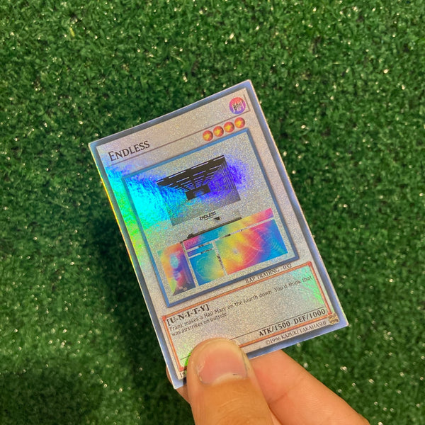 Endless Frank Ocean Yu-Gi-Oh Inspired Custom Holographic Cards