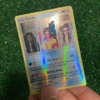 The Weeknd Thursday Pokémon Inspired Custom Holographic Cards