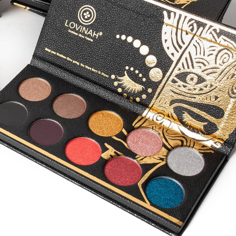 Lovinah Beauty Goddess Glow Eyeshadow Palette - The Beauty Garden Boutique