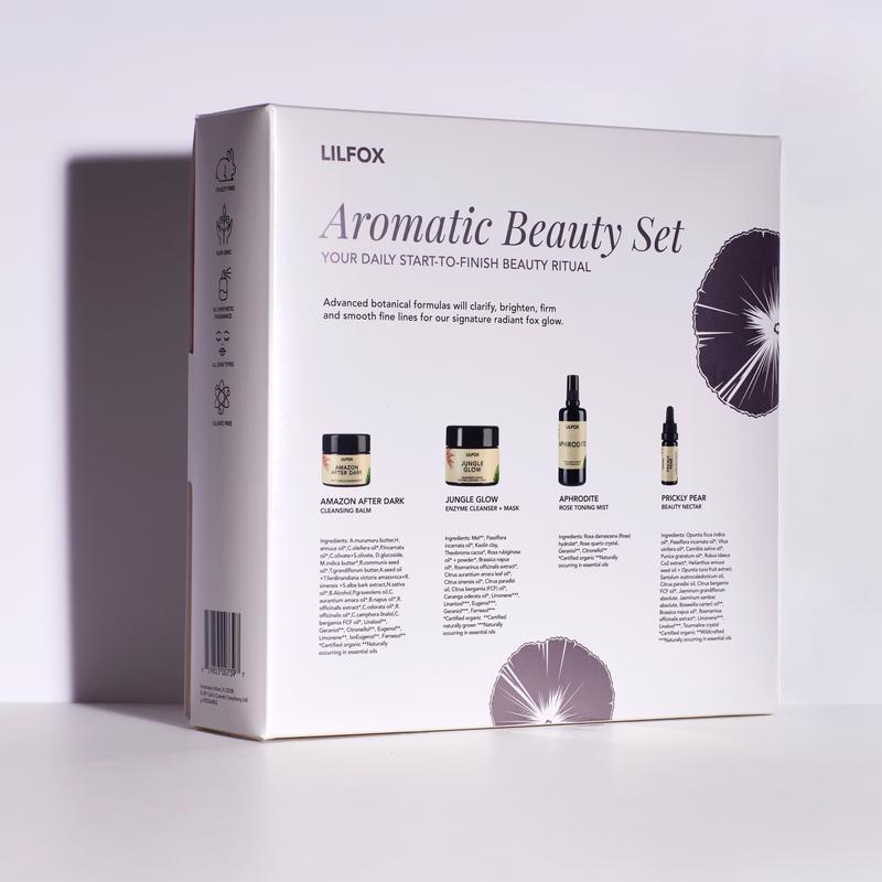 LILFOX | AROMATIC BEAUTYSPHERE ESSENTIALS Daily Skincare Set | Shop the Beauty Garden