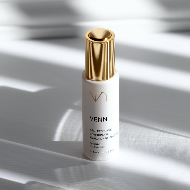 Venn Skincare | AGE-RESPONSE COMPOUND K HYALURONIC BOOSTER | Shop the Beauty Garden