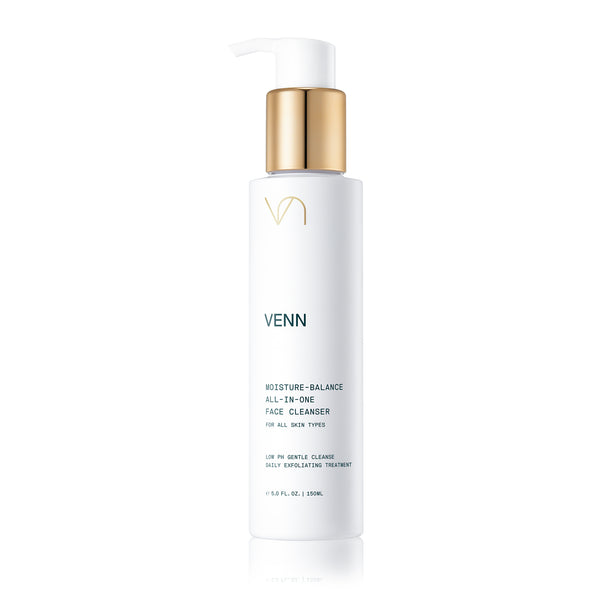 Venn Skincare | Moisture-Balance All-In-One Face Cleanser | Shop the Beauty Garden