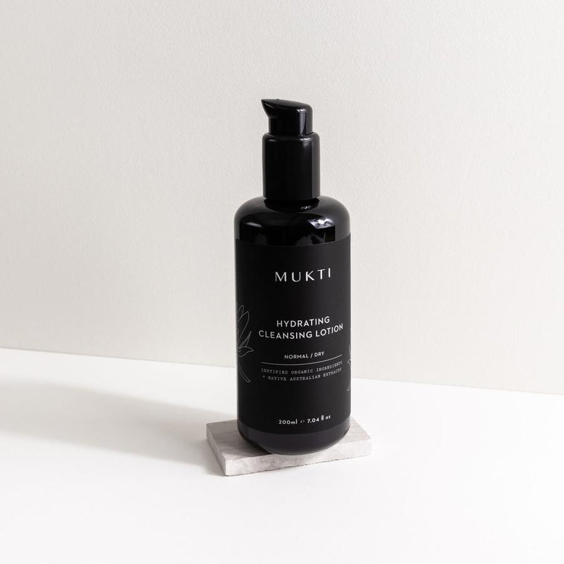 Mukti Organics Skincare Hydrating Cleansing Lotion - The Beauty Garden Boutique