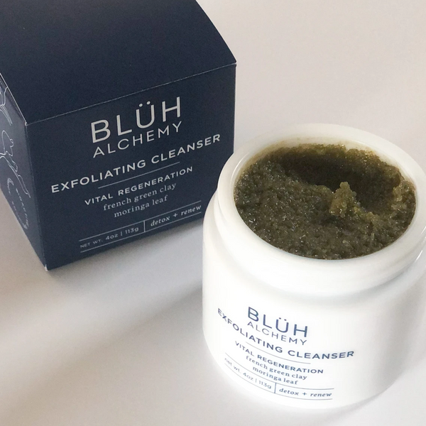 Bluh Alchemy | Exfoliating Cleanser | Shop the Beauty Garden