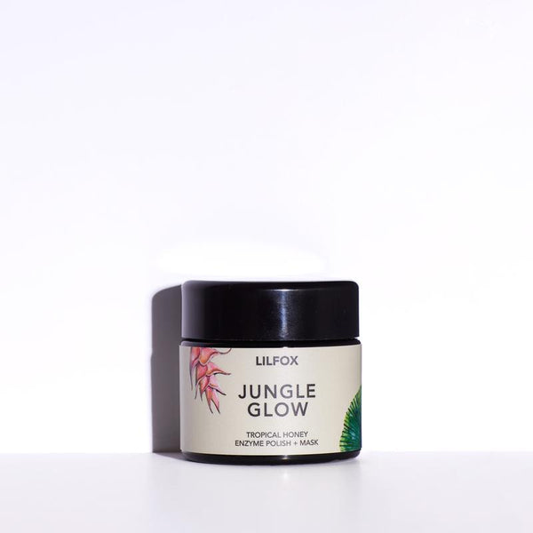 LILFOX | JUNGLE GLOW Tropical Honey Enzyme Polish + Mask | Shop the Beauty Garden
