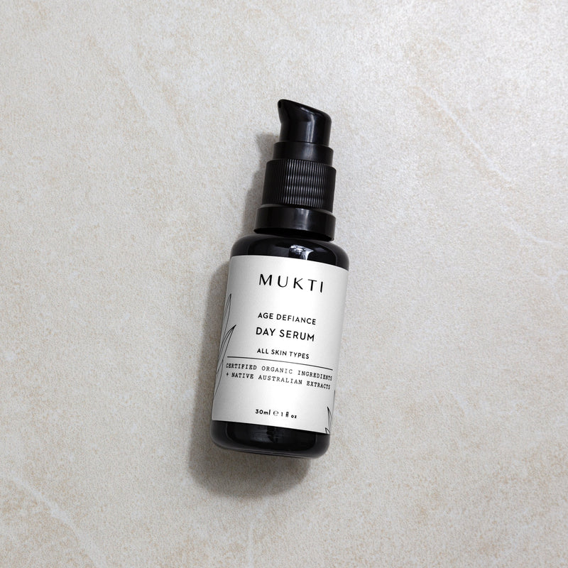 Mukti Organics Skincare Age Defiance Day Serum - The Beauty Garden Boutique