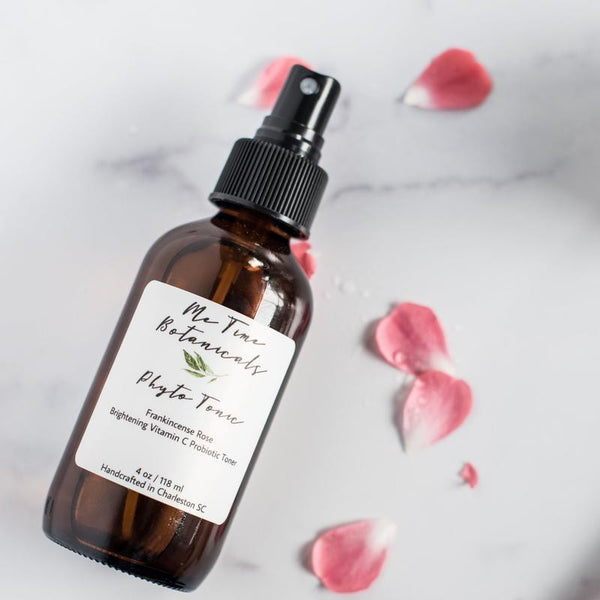 Me Time Botanicals | Phyto Tonic Brightening Vitamin C Probiotic Toner | The Beauty Garden Boutique