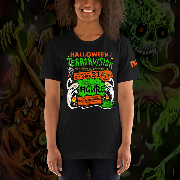 Figure Halloween Terrorvision Short-Sleeve Unisex T-Shirt
