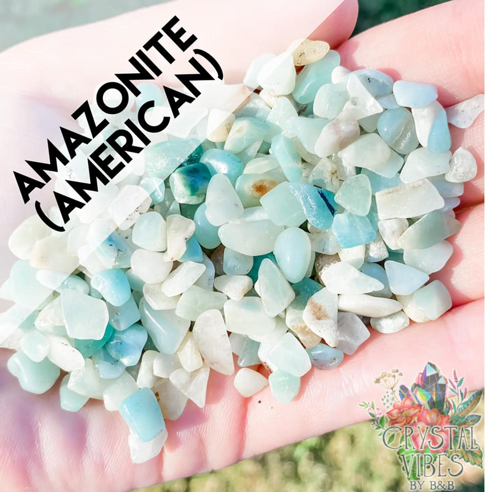Amazonite Crystal Chips