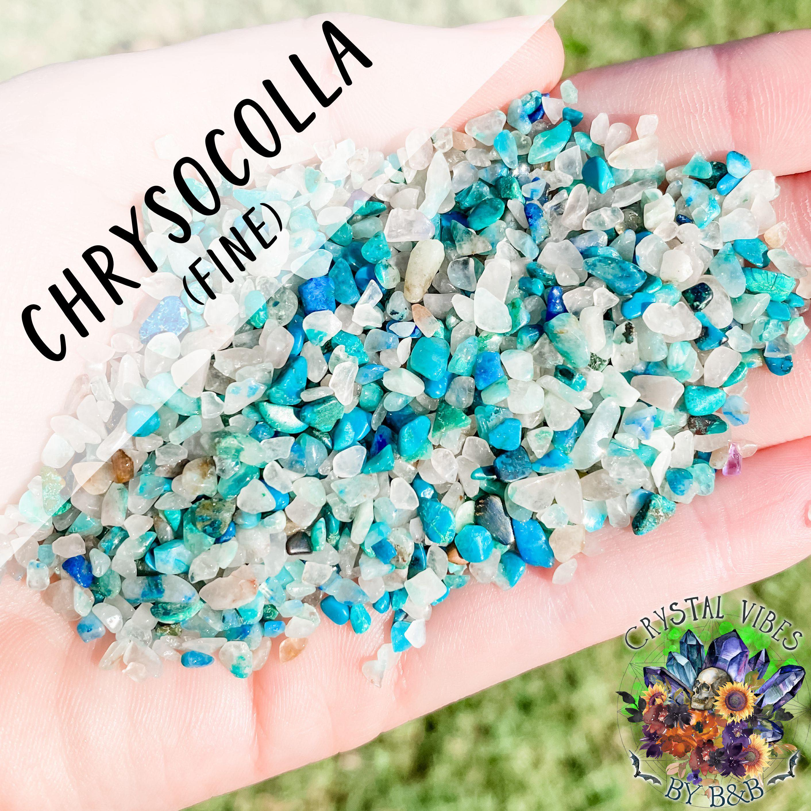 Chrysocolla Crystal Chips