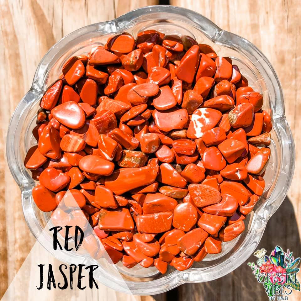 Red Jasper Crystal Chips
