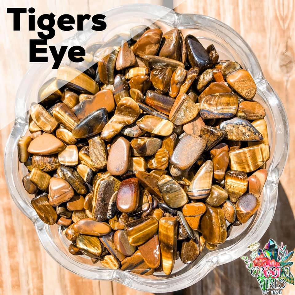 Tigers Eyes (golden) Crystal Chips