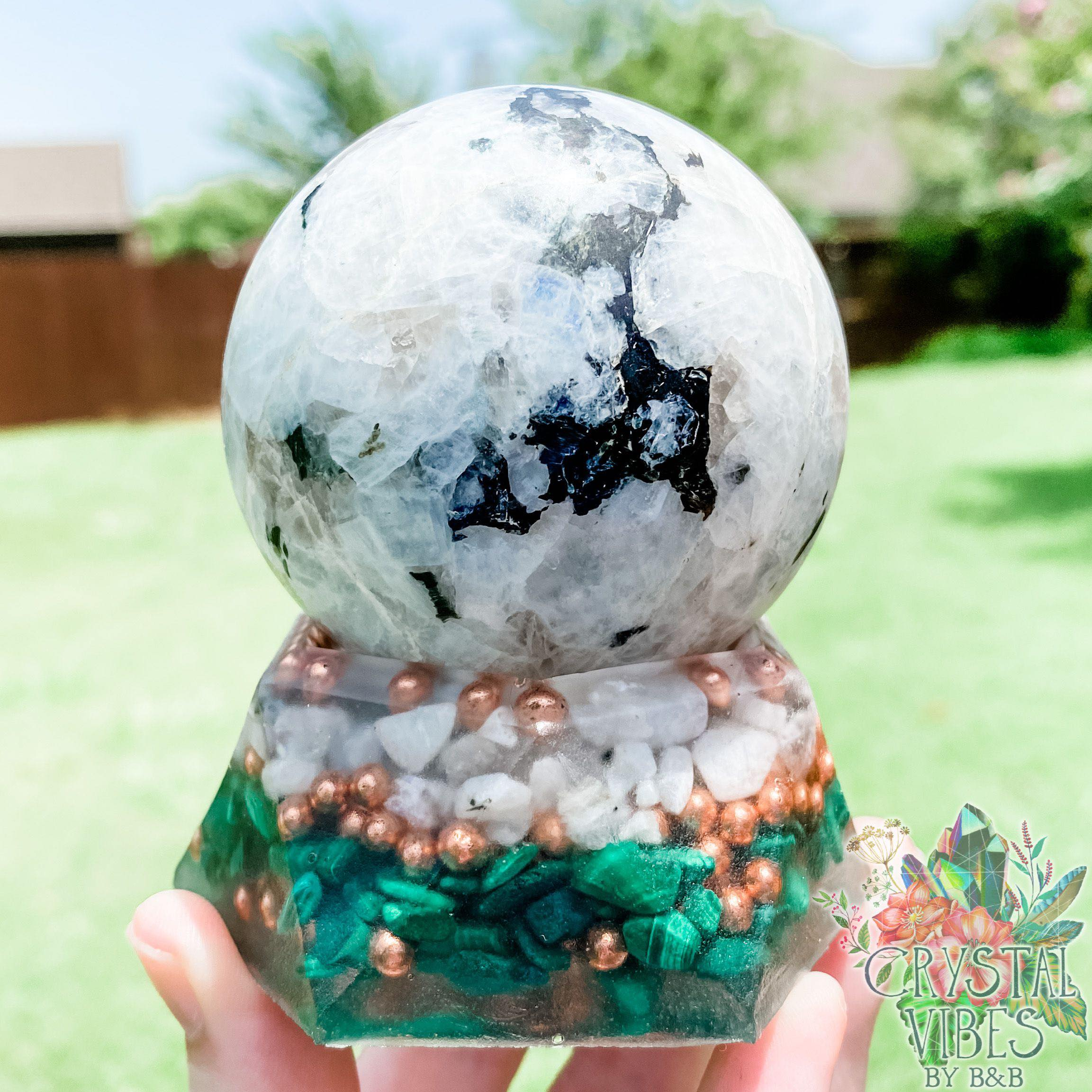 Custom Orgone Planter
