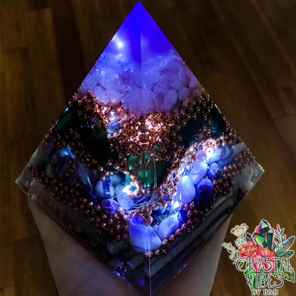 Custom Orgone Pyramid