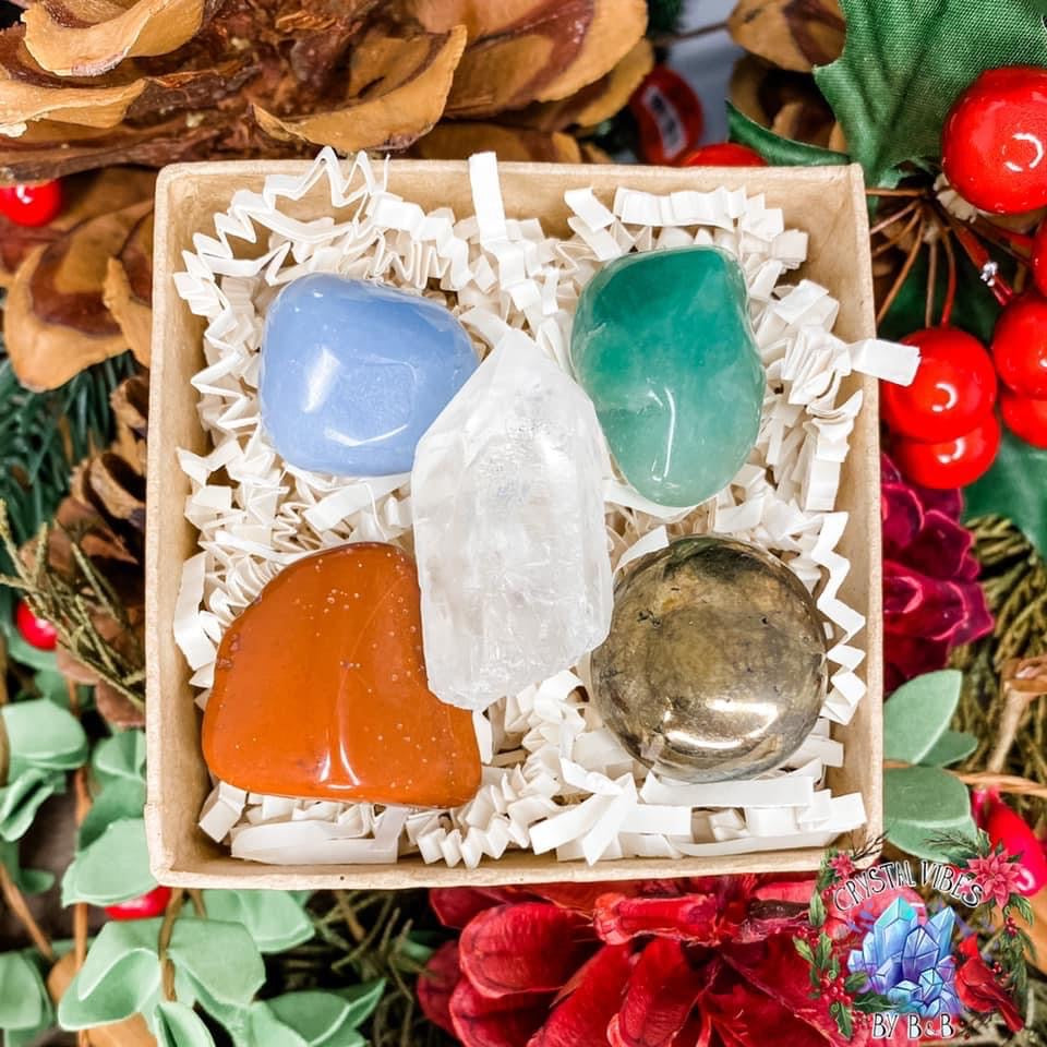 Naughty or Nice Crystal Gift Set