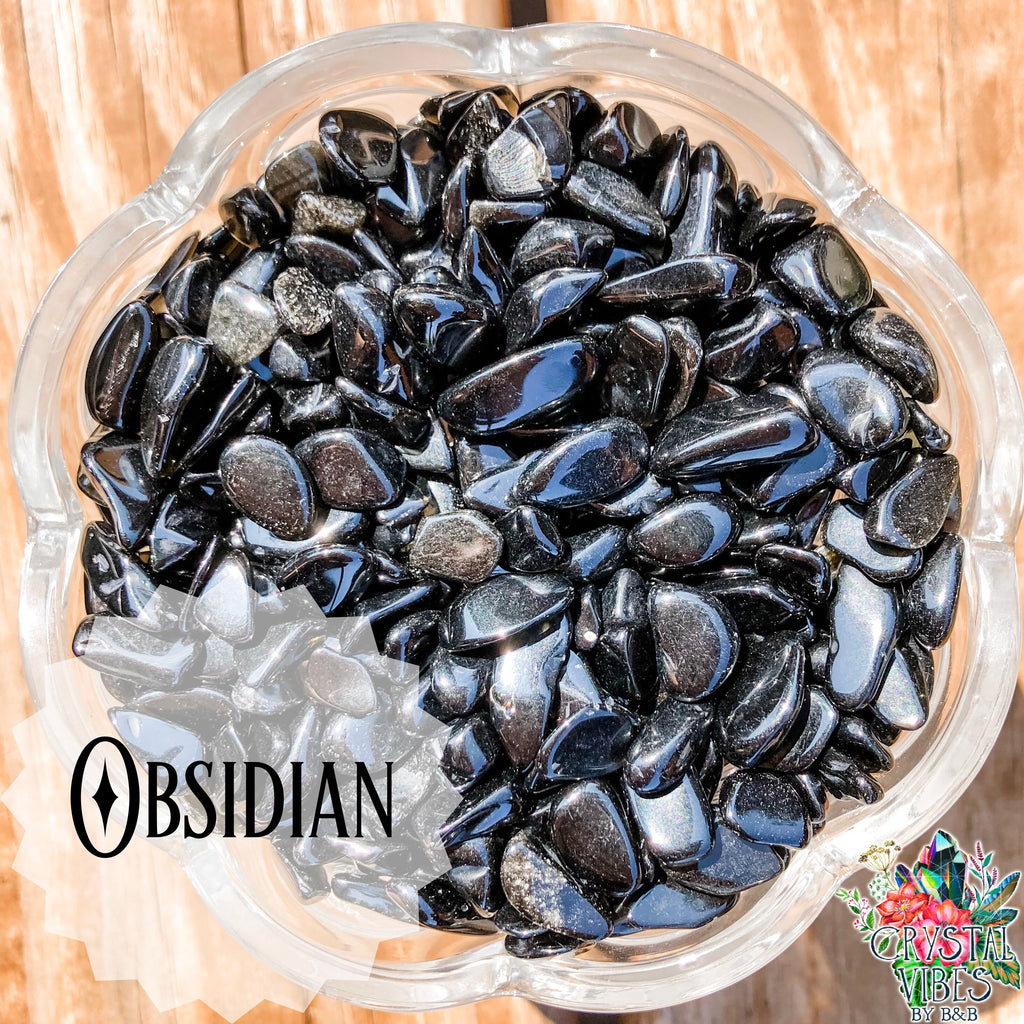 Obsidian Crystal Chips