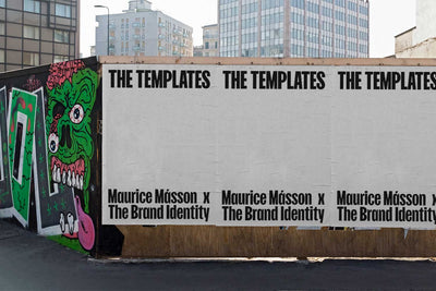 The Brand Identity x Maurice Másson: THE TEMPLATES