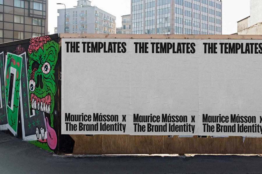 The Brand Identity & Maurice Másson: THE TEMPLATES