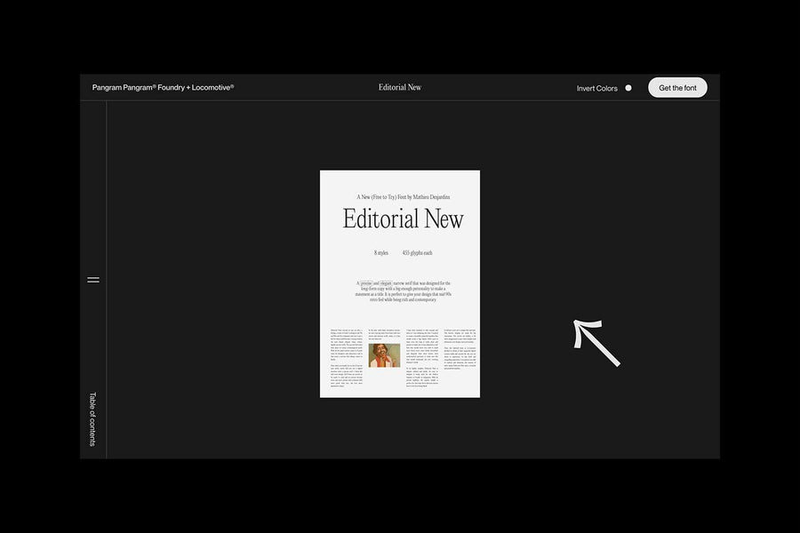 Pangram Pangram Foundry & Locomotive: Editorial New