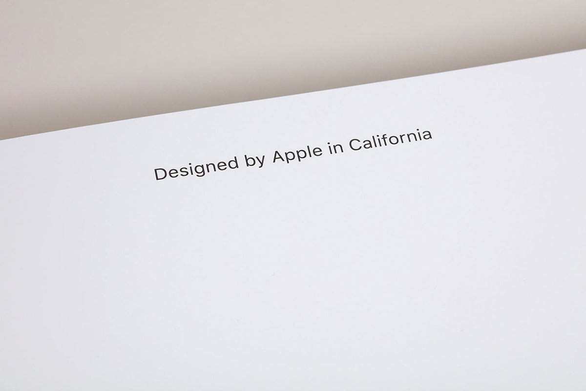 Apple: Designed by Apple in California