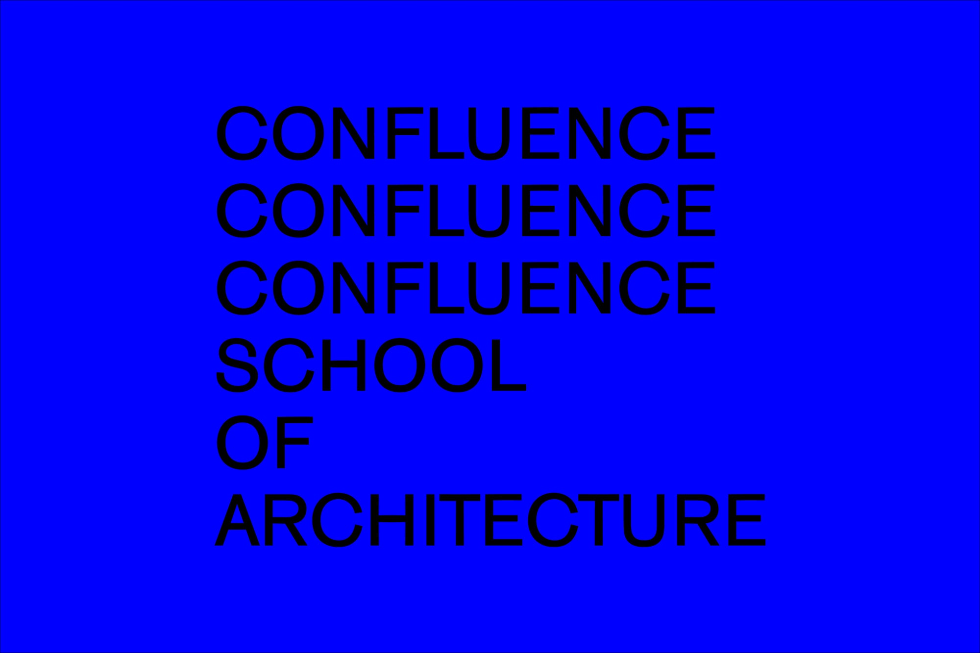 Axel Peemöller: Confluence School of Architecture