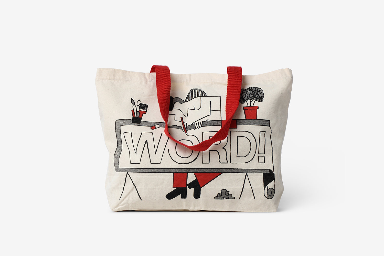 Word! Tote Bag (Jay Cover)