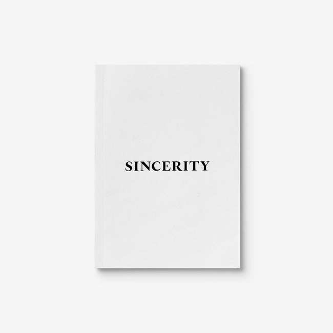 Sincerity/Irony Heldane Specimen Book