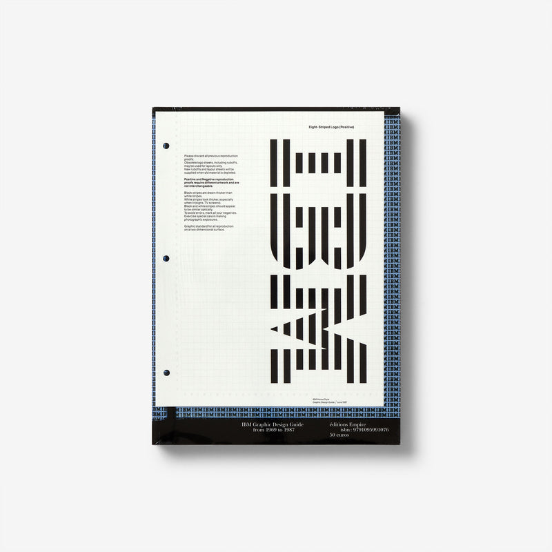 IBM: Graphic Design Guide from 1969 to 1987