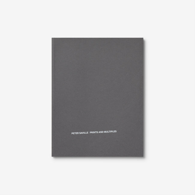 Peter Saville Prints and Multiples / Anna Blessmann and Peter Saville Signs
